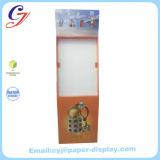4c color printing flooring cardboard display stand riser for perfume sale