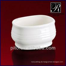 P & T Chaozhou Facotry Porzellan Zucker Schüssel, Zucker Topf