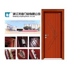 Puerta interior de madera maciza (LTS-103)