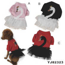 Cute Fashion Dog Dress, Dog Clothes Dress (YJ82323)