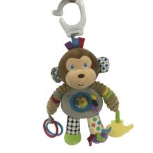 Plush Monkey Hammock Toy
