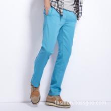 Fashion Blue Lake Men's Casual Cotton Trousers (LSPANT070)