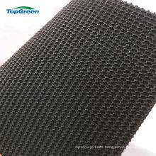 china Black rubber rough top rconveyor belt price