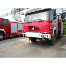 HOWO 4X4 forest use 5ton water fire truck