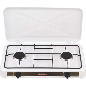 Household Europe Style Two Burner Gas Stove