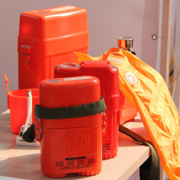 Compressed Oxygen Self-rescuer Self-rescuer Breathing Equipment Oxygen Self-rescuer With CE