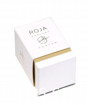 top and bottom 2pc paper boxes for cosmetics perfume jar and bottle packaging