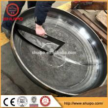 Головка тарелки делая машину/автоматическая Загибочная машина конца тарелки/стальной посуды заканчивается бака