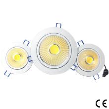 RGB COB LED Downlight pour plafond 6W / 10W / 15W / 20W / 30W