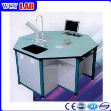 8 seitliche Aluminium-hölzerne Struktur Digital-Labor-Bank Weichengya
