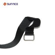 Eco-Friendly nylon carrying book adjustable hook loop strap