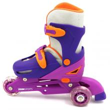 The new skates with two wheels behind