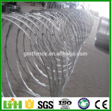China Factory Supply home depot wires hot dipped razor barbed wire price for sale