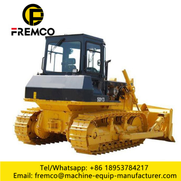 Bulldozer De Esteira Com Undercarriage Estavel