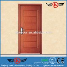 JK-W9013 projetos modernos de porta principal de madeira de teca
