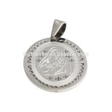 colar pingente de jóias fornece medalhas milagrosas