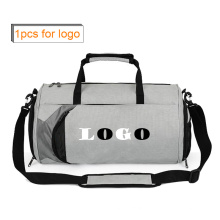 Custom Logo Outdoor Large Duffle Bag with PE Board Shoe Compartment Bag