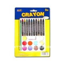 crayon 2803 CRAYONS AVEC ENSEMBLE DE PEINTURE BROSSE
