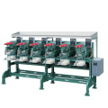 Black welded round structure steel tube bending machine