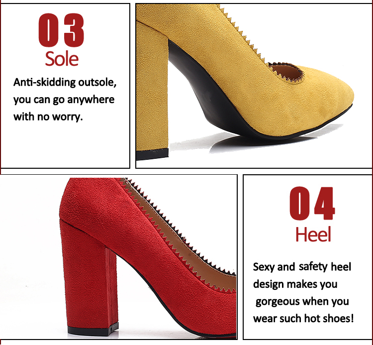 high heel pumps