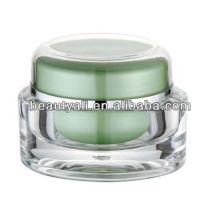 Oval 1oz Cosmetic Jar