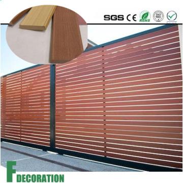 Revestimiento de pared de compuesto de madera impermeable de madera WPC