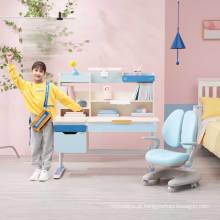 Mesa e cadeira ergonômica para crianças IGROW