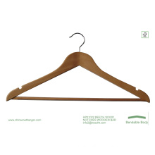 Cheap Wooden Hanger, Wooden T-Shirt Hanger, Good Quality Hanger