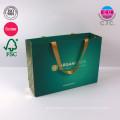 Изготовленные на заказ печатая зеленые одежды перевозчик сумка для покупок