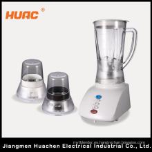 Hc205-B-3 Licuadora Utensilios de Cocina Push Button Plastic Jar 3in1