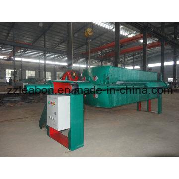 Prensa de filtro de ferro fundido para placa e estrutura industrial