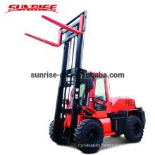 Tracción en las ruedas 4x4 Tractor en terreno diesel 3TON a 10 toneladas