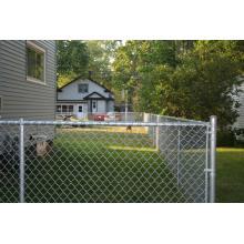 Clôture en PVC recouvert de PVC / Construction de panneaux temporaires Fencing / Garden Security Fencing