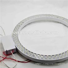 Chine Hot Sale Epistar puce 180leds CE RoHS 10W 11W circulaire lumière LED AC220V