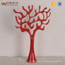 Árbol de resina para la decoración interior de la boda decoración del hogar tabla centerpiecein árbol