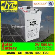 2v 500ah solar battery solar street light battery,storage battery,china battery