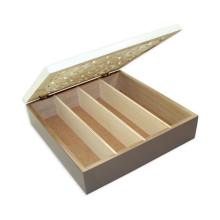 Caixa de transporte ondulada impressa costume do papel da caixa do cartão