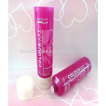 60ml shampoo plastic tube with flip top cap