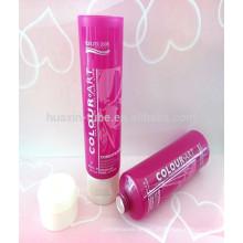 Tubo de plástico shampoo de 60 ml com tampa superior flip