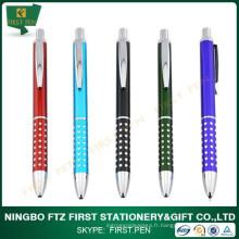 Premier stylo en métal rétractable A006 Shiny Dots pour promotion