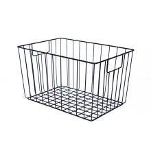 KINDOME Rectangular Metal Wire Storage Baskets for Kitchen Pantry Cabinet