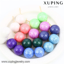 92438 xuping jewelry promotion ball shaped stud earring