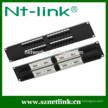 2U 19inch cat5e cat6 32 port patch panel