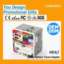 Nuevo producto 220v ac a 6v dc adaptador de corriente, e40 e27 adaptador
