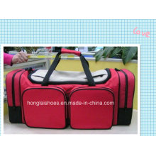 Red Sport Fitness Outdoor Duffel Travelling Bags