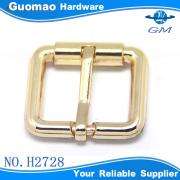 25MM golden thick belt accessories metal pin buckle