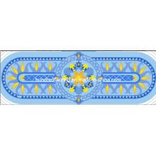 Mosaico de mosaico de diseño de mosaico de vidrio (HMP783)