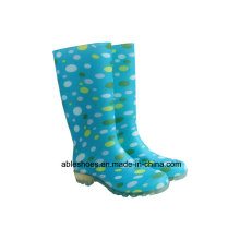 PVC Wellington Boots for Women, Lady Rain Boots
