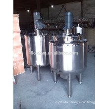 cosmstic use stainless steel shampoo mixing tank
