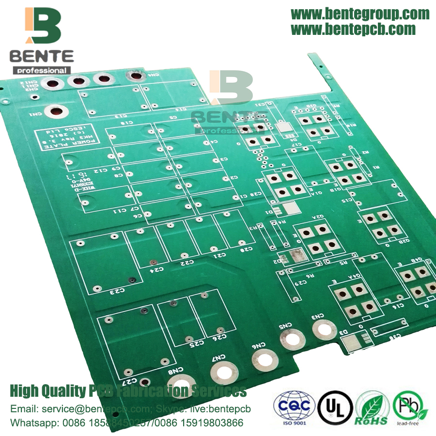 Matt Green 2Layers TG150 Dickes Kupfer PCB